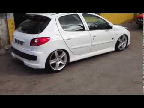 peugeot 206 plus air suspenseion by hayrettin duran youtube. Black Bedroom Furniture Sets. Home Design Ideas