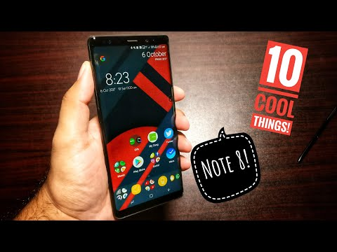 10 Cool things to do with Samsung Galaxy Note 8!