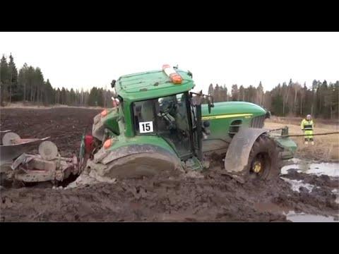 Intelligent Modern Plowing Farming Tractor Technology