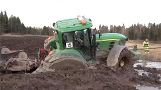Intelligent Modern Plowing Farming Tractor Technology