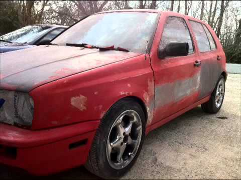 VW Golf Mk3, GL III Project
