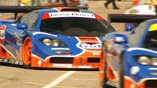 McLaren F1 GTR at Anderstorp Raceway