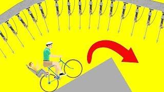 9999% СЛОЖНЫЙ НЕПРОХОДИМЫЙ УРОВЕНЬ! ПОДБОРКА САМЫХ СЛОЖНЫХ УРОВНЕЙ В ХЭППИ ВИЛС (Happy Wheels)
