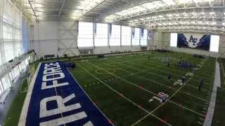 Air Force Academy Football Practice - HD Aerial