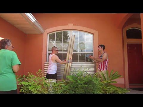 🌀💪 Hurricane Irma Path to Florida Preparation Day 2 | Vlog 150b (real 150)