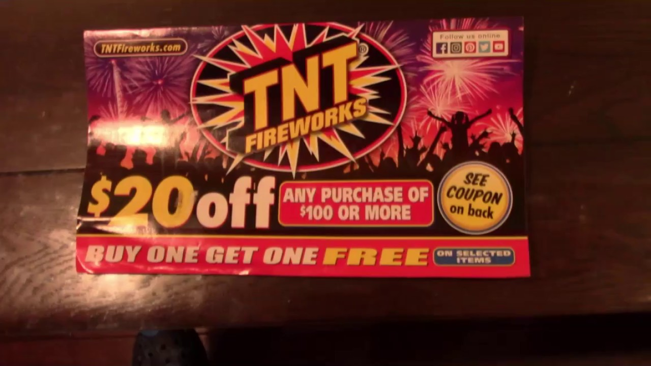 picture relating to Tnt Fireworks Coupons Printable identified as Tnt Fireworks California Catalog 2017 Sante Web site