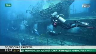 Во Флориде открылась подводная выставка