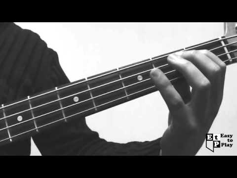 21 Guns Bass Line (Green Day Cover) How to Play Lesson for Beginners - 동영상