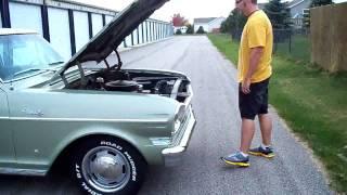 1964 Chevy II Nova 4 door with 19,500 miles Starting and Running