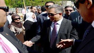 وزير الأثار يفتتح مشروع إضاءة الغرب بالأقصر ويتفقد المعابد بالاقصر