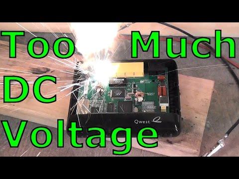 Too Much DC Voltage!