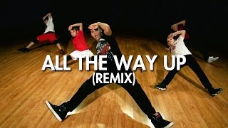 Fat Joe, Remy Ma, David Guetta, GLOWINTHEDARK - All The Way Up (Remix) (Dance Video) | Choreography