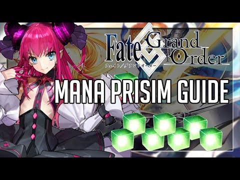 Fate Grand Order English FAST Mana Prism Guide