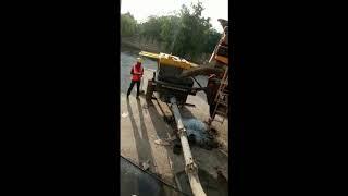MCM 5000 Concrete Pump Working…