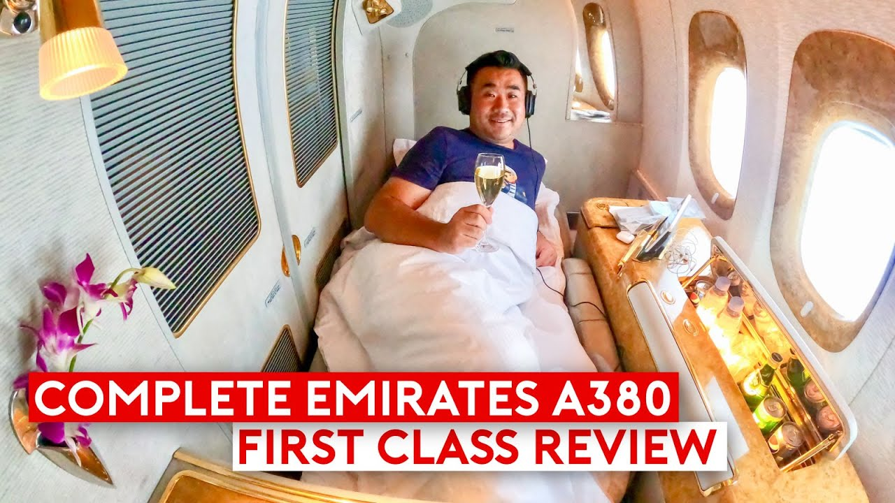 The Complete Emirates A380 First Class Review Feature Be