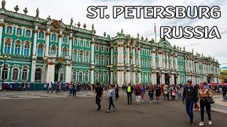 SIGHTSEEING SAINT PETERSBURG | RUSSIA 2018  🇷🇺