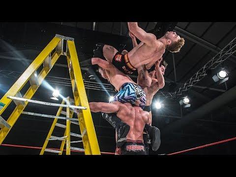 4-Way Tag Team Title Ladder Match (True Destiny 2017)