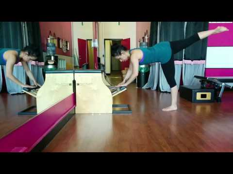 Chair Arabesque Variation © Bodytonic Pilates