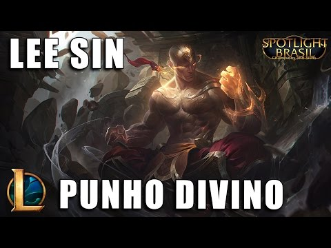 Lee Sin Punho Divino - League of Legends (Pré BR)