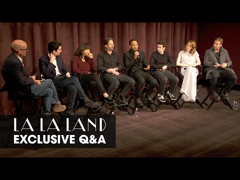 La La Land (2016 Movie) Exclusive Cast Q&A