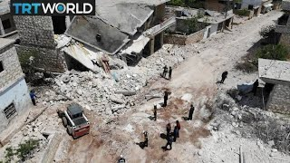 The War in Syria: White Helmets continue their mission in Idlib