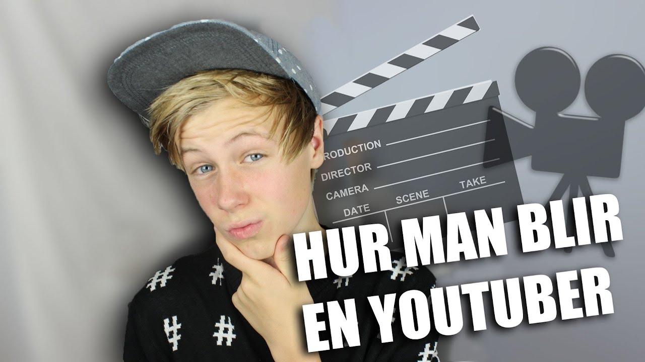 hur blir man youtuber
