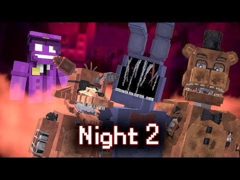 MINE Nights at Freddy's ORIGINS | Night 2 | Five Nights at Freddy's Minecraft Roleplay