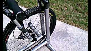 A Homemade Bike Stand Cheap And Easy