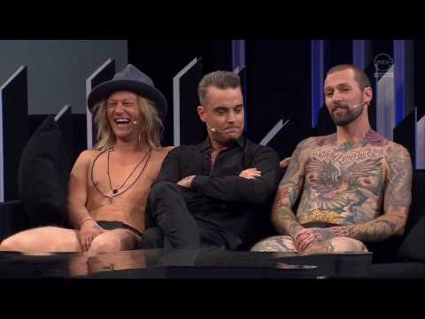 Robbie Williams  @ MTV3 Finland 2016