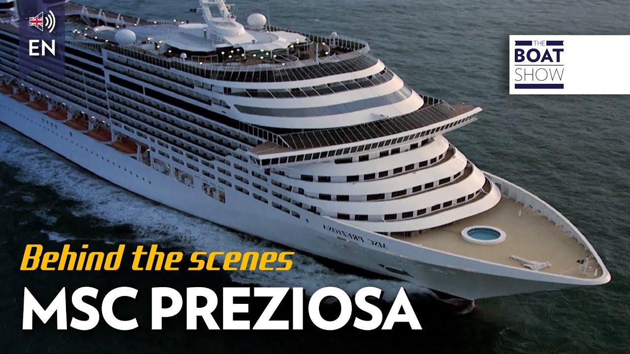 ENG MSC PREZIOSA CRUISE SHIP Review The Boat Show YouTube - Cruise ship reviews