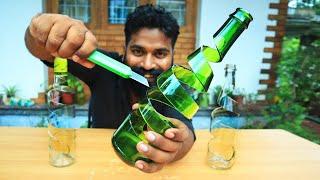 How To Cut A Bottle Like This | ഇനി കുപ്പികൾ സ്പ്രിങ്ങുപോലെ മുറിച്ചെടുക്കാം | M4 TECH |