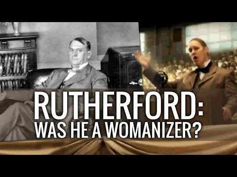 Rutherford: Was he a womanizer? - Cedars' vlog no. 114