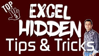 5 Hidden Tips and Tricks of MS Excel You Should Know_HD_EP 4