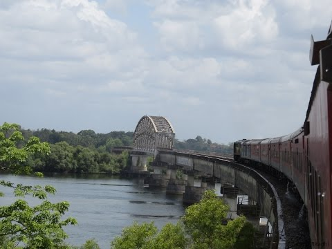 Full Journey on Konkan Railways from Trivandrum Rajdhani: Goa-Mumbai