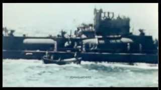 1946 Sinking of Captured Japanese I-400 Class Submarines