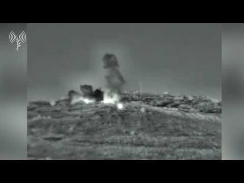 Israel strikes Syria following rocket fire