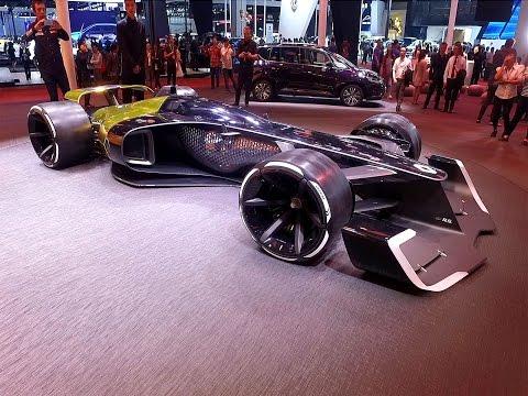 La F1 du futur selon Renault