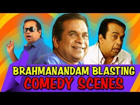 Brahmanandam Blasting Comedy Scenes | South Indian Hindi Dubbed Best Comedy Scenes thumbnail
