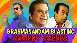 Brahmanandam Blasting Comedy Scenes | South Indian Hindi Dubbed Best Comedy Scenes