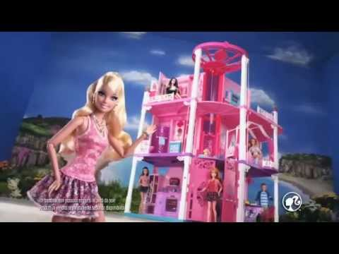 Barbie e la casa dei sogni e auto mini cooper di ken it for Casa di barbie youtube