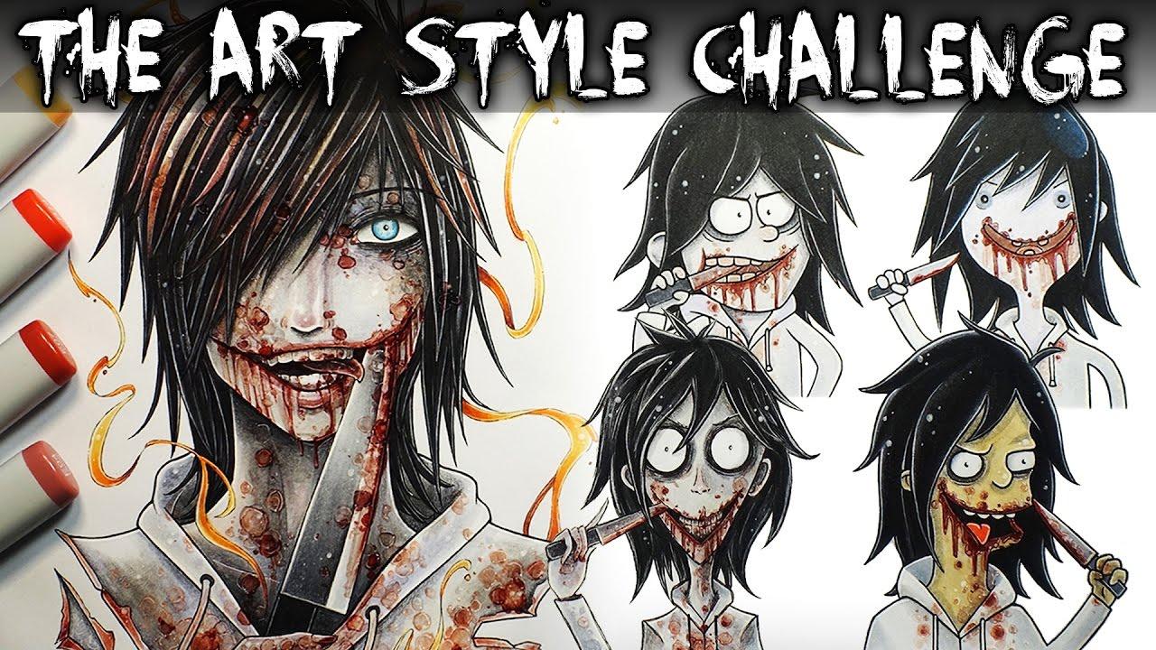 art style challenge jeff