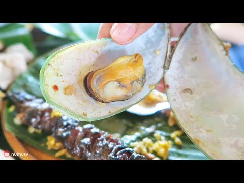 Filipino Food in Island Cove, CAVITE |  Fishing Village FEAST in the Philippines