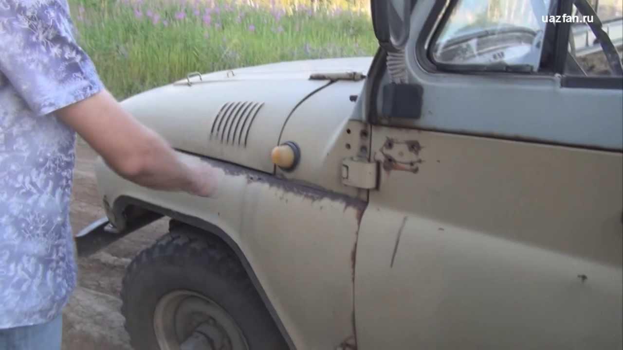 УАЗ двигатель УМЗ 451-Turbo, многоточечный впрыск топлива; UAZ old .