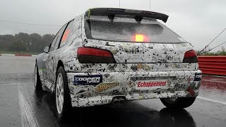 La Team Breizh Auto Compétition clôture son épopée en Rallycross avec sa 306 maxi !