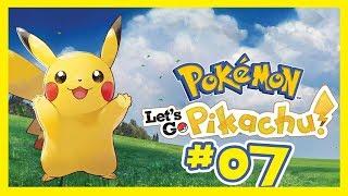 Pokemon: Let's Go Pikachu & Eevee! (07) - GADAJĄCY POKEMON!