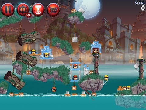 Angry Birds Star Wars 2 Level P3-S4 Battle of Naboo Sidequest 3-Star Walkthrough