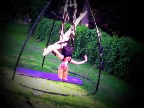 Omni-Gym & Yoga Swing - Fun in the California Sun \