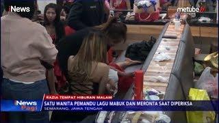 Terjaring Razia Polisi, Pemandu Lagu Mabuk Ngamuk saat Diperiksa - iNews Pagi 17/08