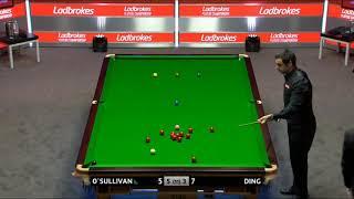 Ronnie o'sullivan  vs Ding Junhi •QF• |Players Championship 2018|