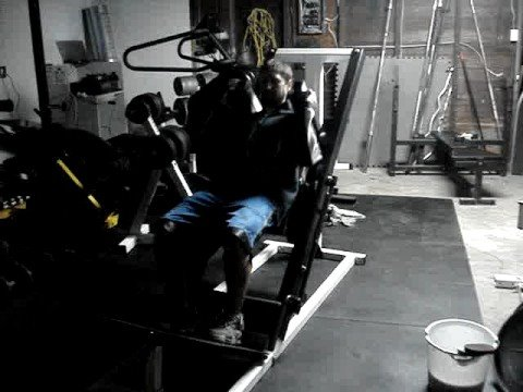 Northern Light Fitness Leg Press Hack Squat